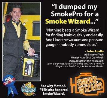 Smoke Wizard® GLD-40 EVAP Smoke Machine - FindEvapLeak
